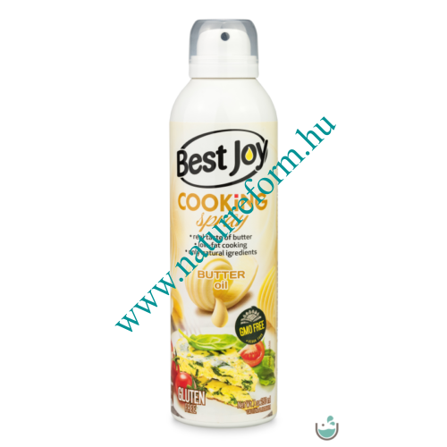 Best Joy Cooking Spray Vaj Ízű 250 ml - Natur Reform