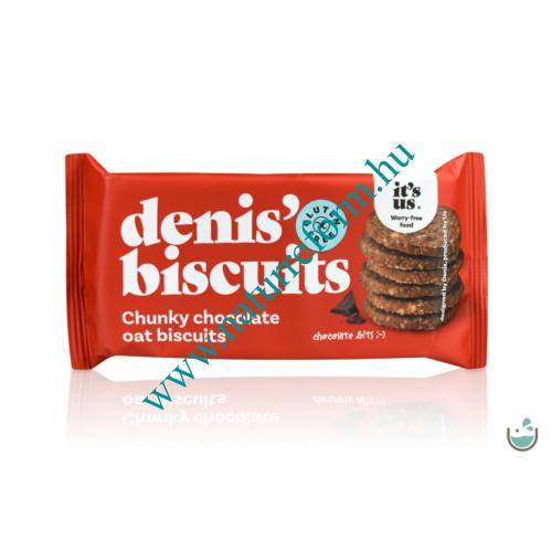 It's us Denis' Gluténmentes keksz zabpehellyel és csokoládéval 50 g – Natur Reform