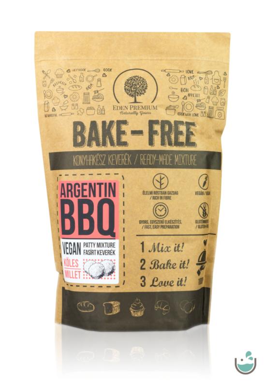 Éden Prémium Bake-Free Argentin BBQ fasírt keverék – köleses - 1000 g – Natur Reform