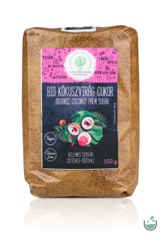 Éden Prémium bio kókuszvirág cukor 500 g – Natur Reform