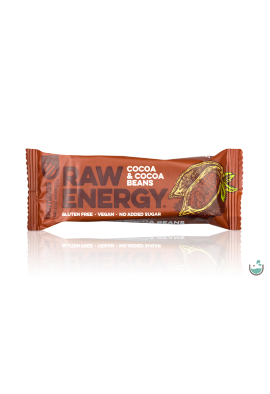 Bombus nyers energia szelet kakaó & kakaóbab 50 g - Natur Reform