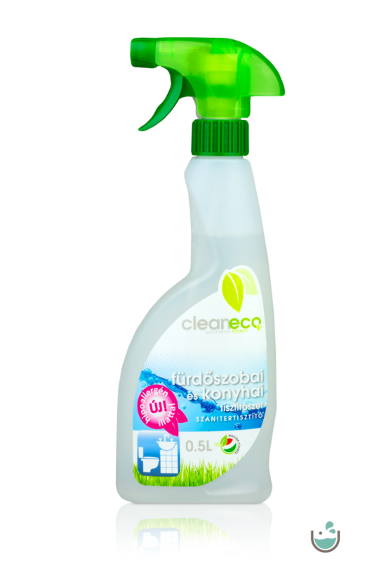 Cleaneco fürdőszobai és konyhai tisztítószer 500 ml – Natur Reform