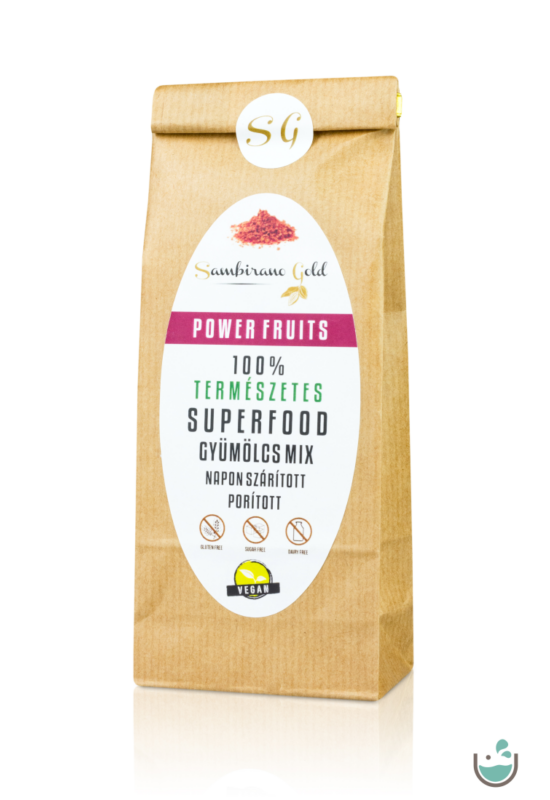 Sambirano Gold Power Fruits – superfood gyümölcs mix 100 g – Natur Reform