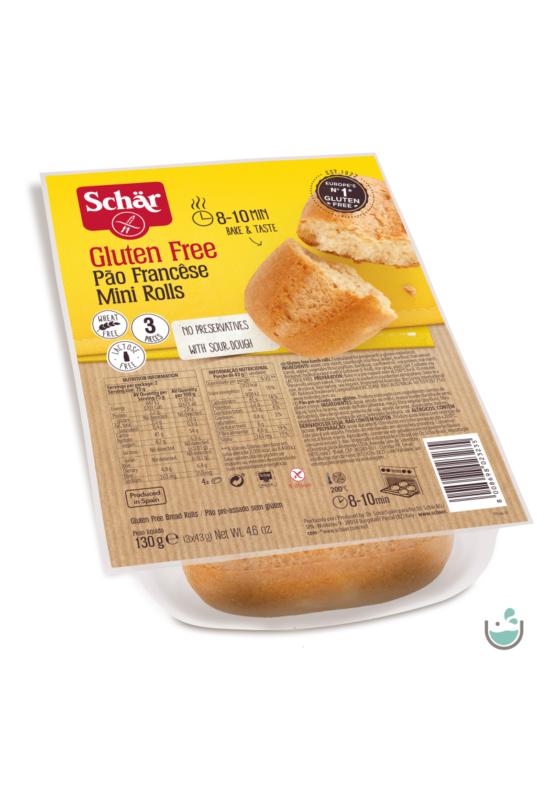 Schär mini rolls elősütött 130 g - gluténmentes, vegán