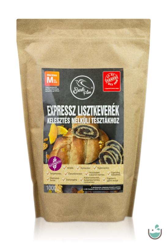 Szafi Free expressz lisztkeverék-kelesztés nélküli tésztákhoz 1000g