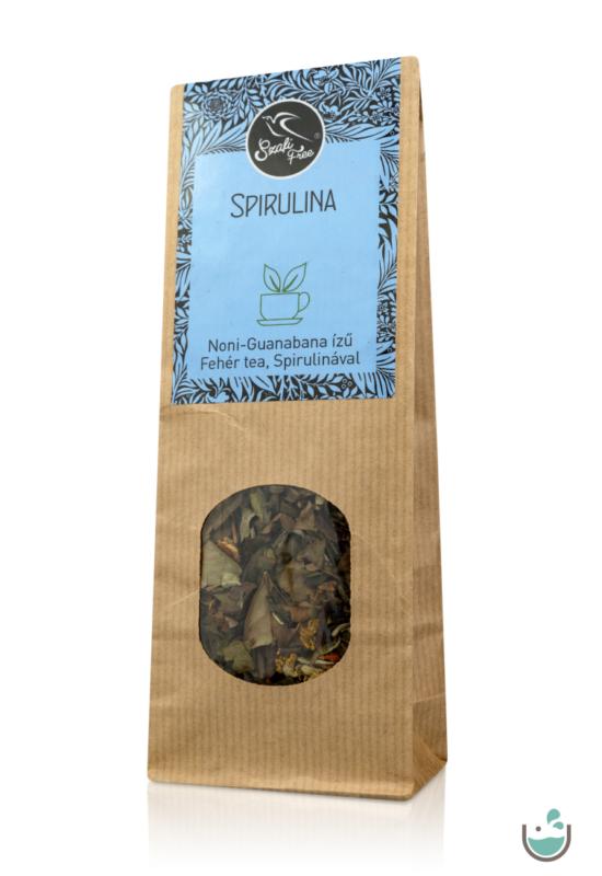 Szafi Free Spirulina fehér tea 100 g – Natur Reform