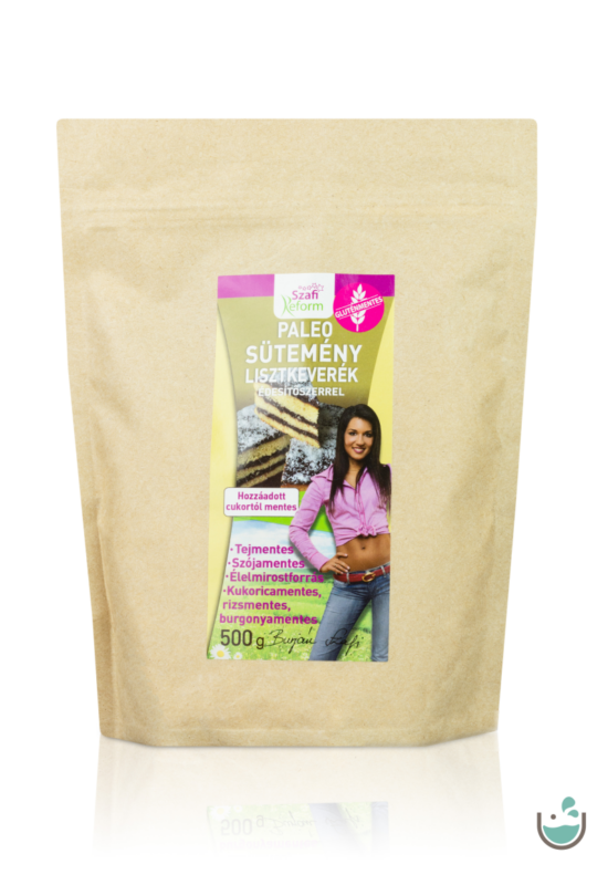A lisztkeverékből gluténmentes és csökkentett szénhidrát-tartalmú édességeket készíthetsz.