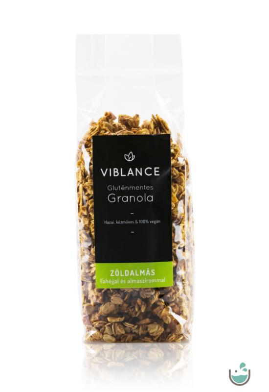 Viblance zöldalmás granola 250 g