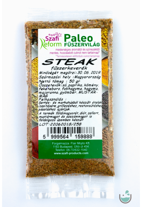 Szafi Reform paleo steak fűszerkeverék 50 g